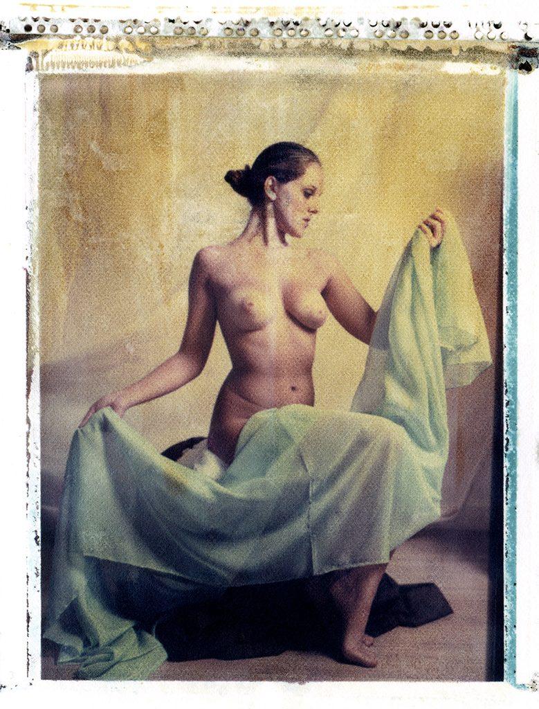 Polaroid grande formato Frank Morris