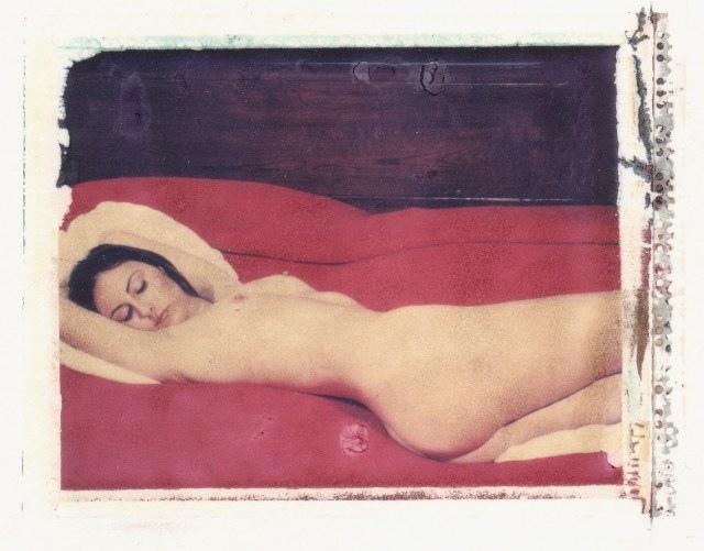 Poalroid nude by Frank Morris Modigliani