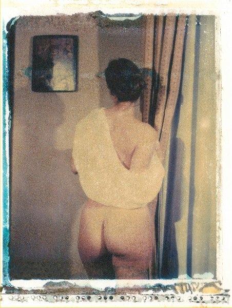 Polaroid Nude - ritratto by Frank Morris